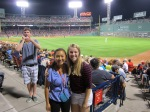 Under the bright Fenway lights