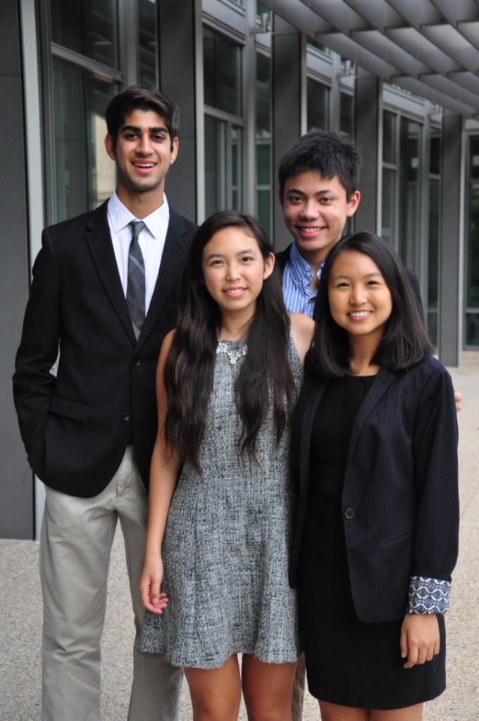 photo of student team